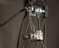 演播室聚光灯或阶段光 库存照片