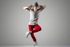演播室舞蹈照片 免版税库存照片
