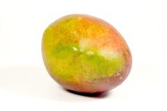 演播室被射击成熟五颜六色的热带芒果 免版税图库摄影