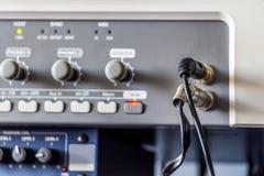 演播室设备 库存图片