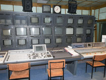 演播室4 -罗马尼亚电视(TVR) 库存图片
