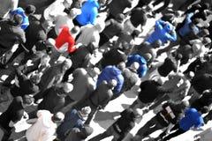演示警察抗议者 免版税库存照片