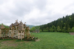演角色的游戏的Tolkienists地方 库存图片