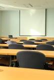 演讲室研讨会 免版税图库摄影