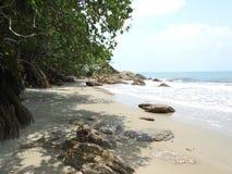 漩涡海湾海滩 免版税图库摄影