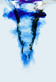 漩涡漩涡水 免版税库存照片