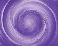 漩涡紫罗兰 免版税图库摄影