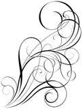漩涡艺术设计 免版税库存照片