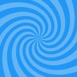 漩涡设计的传染媒介例证 打旋的辐形样式背景 漩涡starburst螺旋转动正方形 螺旋自转光芒 库存例证
