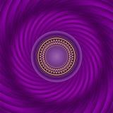 漩涡紫色背景 软的传染媒介梯度和混合 辐形 皇族释放例证