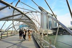 漫步在新加坡 免版税图库摄影