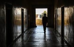 漫步, Museo de las Culturas de瓦哈卡,瓦哈卡,墨西哥 免版税库存图片