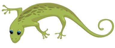 漫画人物蜥蜴 免版税图库摄影