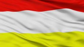 潘普洛纳市旗子,哥伦比亚,特写镜头视图 皇族释放例证