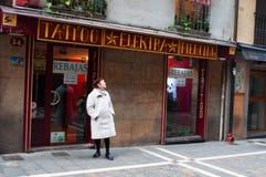 潘普洛纳,纳瓦拉,巴斯克地区,西班牙,欧洲 免版税图库摄影