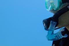 潜水员 免版税库存图片