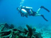 潜水水肺 免版税库存照片