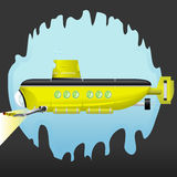 潜水艇黄色 免版税库存图片