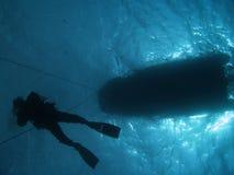 潜水 免版税库存图片