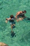 潜航的子项 图库摄影