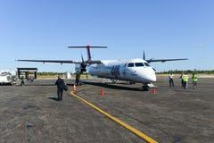 潜逃莫桑比克航空公司 免版税库存图片