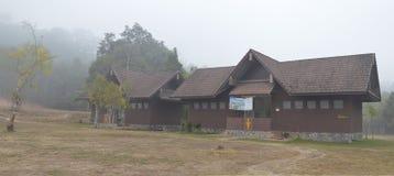 潜逃ta khong野营地在泰国 库存照片