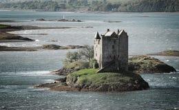 潜随猎物者城堡 库存照片