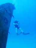 轻潜水员 免版税图库摄影
