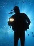 潜水员u14 库存照片