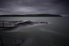 潜水岩石4 图库摄影