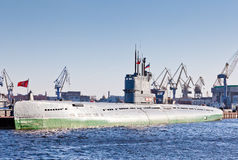 潜水艇S-189 库存照片