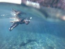 潜水 免版税库存照片