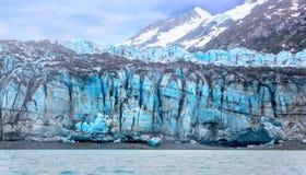 潮汐冰川表面在冰河海湾国家公园。 库存图片