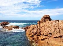 潮汐岩石水池,约克半岛 免版税图库摄影
