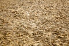 潮湿的沙子 库存图片
