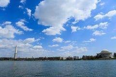 潮水坞华盛顿 库存图片