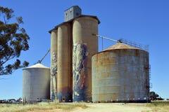 澳大利亚、维多利亚、农业和艺术品 免版税库存照片