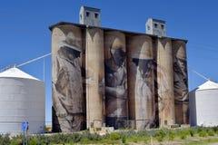 澳大利亚、维多利亚、艺术和农业 图库摄影
