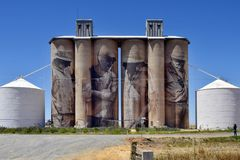 澳大利亚、维多利亚、艺术和农业 免版税库存照片