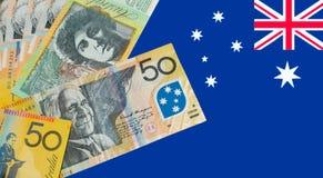 澳大利亚元笔记 库存照片