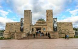 澳大利亚全国战争纪念建筑 库存照片