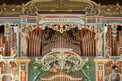 澳大利亚公平的盛大音乐会街道器官 免版税图库摄影