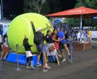 澳大利亚公开赛网球 免版税库存照片