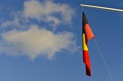 澳大利亚原史旗子 免版税库存照片