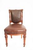 澳大利亚古董弯曲的橡木椅子大约1870 免版税库存照片
