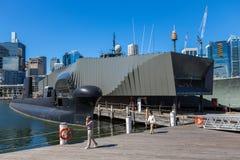 澳大利亚国家海洋博物馆展出在悉尼 免版税库存照片