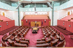 澳大利亚国家议会在堪培拉安置 库存照片