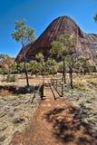 澳大利亚在内地,北方领土,澳洲 免版税库存照片