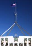 澳大利亚堪培拉房子议会 免版税库存图片