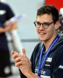 澳大利亚奥林匹亚、世界冠军和纪录创造者米歇尔LARKIN AUS 免版税库存图片
